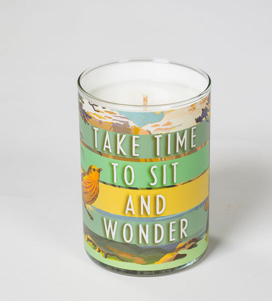 Sit and Wonder Candle