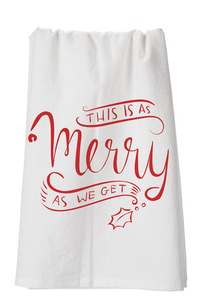 As Merry Dish Towel