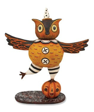 Dancing Owl Figure