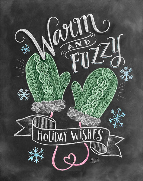 Warm & Fuzzy Holiday Wishes Card