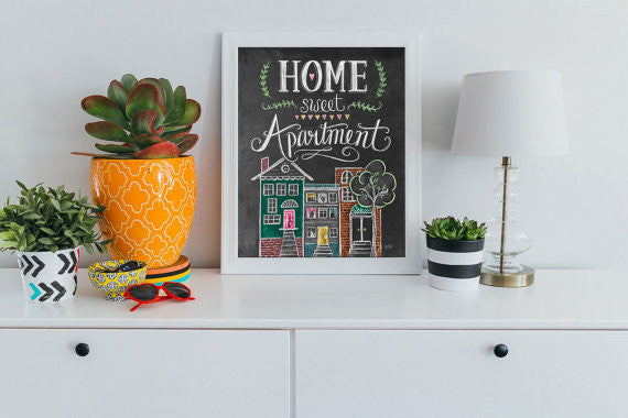 Home Sweet Apartment Print