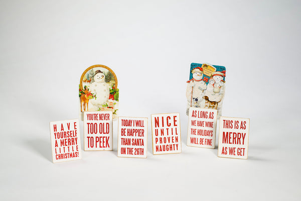 Christmas Card/Photo Holders