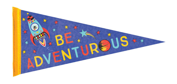 Be Adventurous Large Pennant