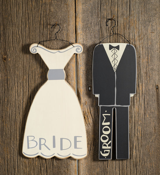 Groom Hang up Sign