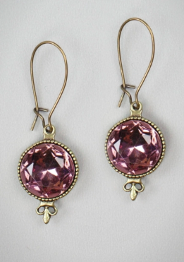 Amethyst Fleur Earrings