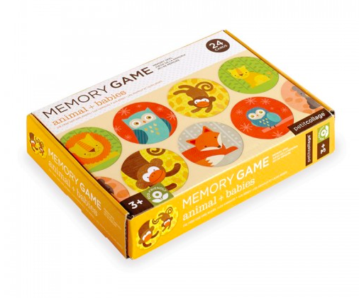 Animals + Babies Memory Game