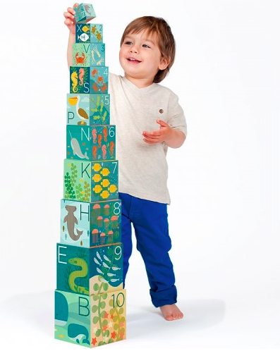 Ocean ABCs Nesting Blocks