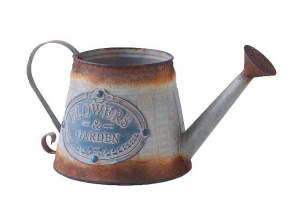 13 Inch Metal Vintage Watering Can