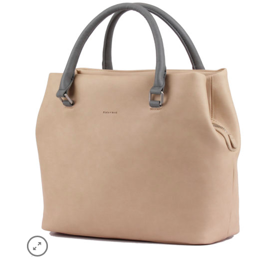 Taupe Sylvia Tote