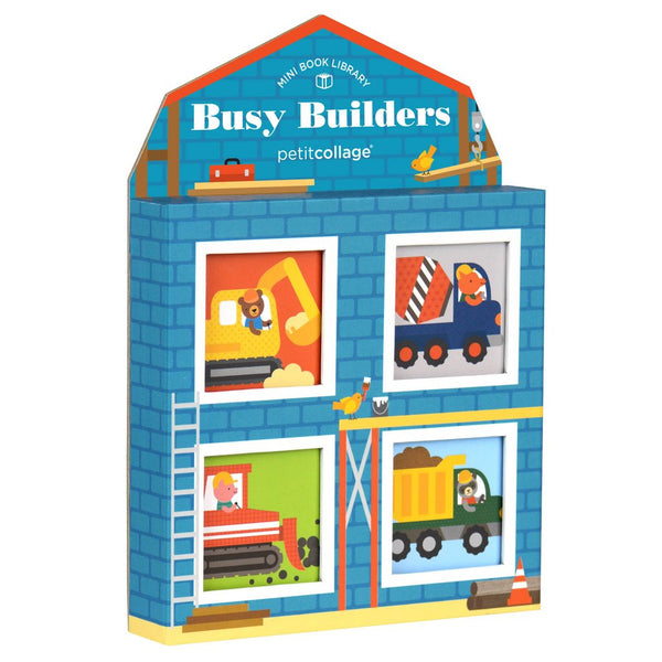 Busy Builders Mini Book Library Set