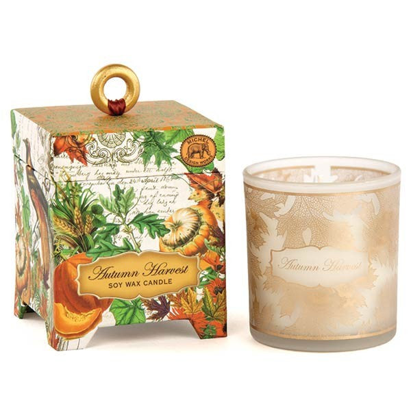 Autumn Harvest Soy Wax Candle 6.5 oz
