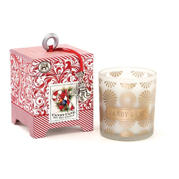 Candy Cane 6.5 oz Soy Wax Candle