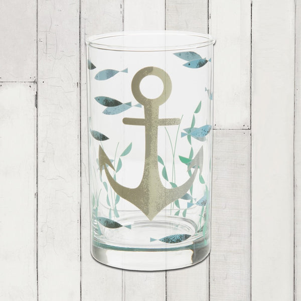 Ahoy! Table Glass- Anchor