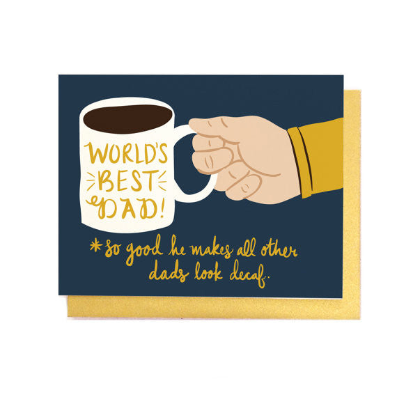 Coffee Dad Card