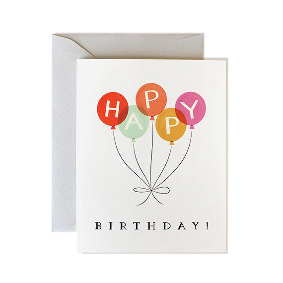 Balloons | Birthday Card