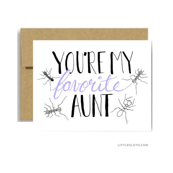 My Favorite Aunt Card