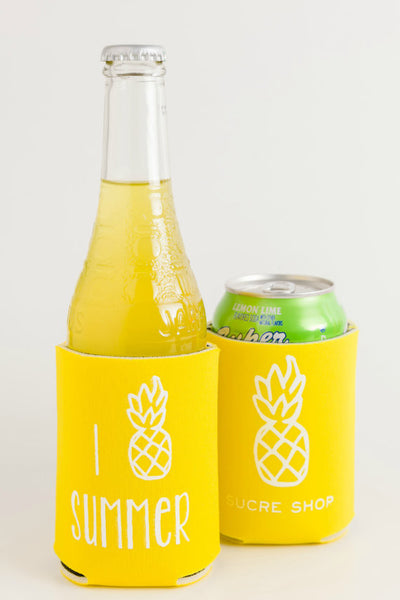 I Pineapple Summer Koozie