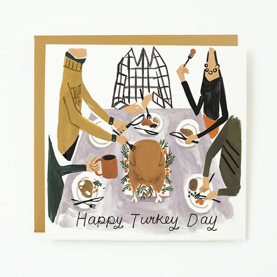 Happy Turkey Day Card