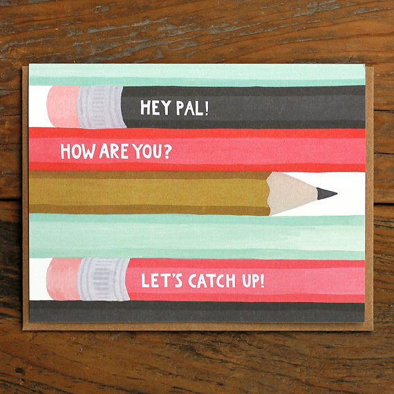 Pencil Pal Card