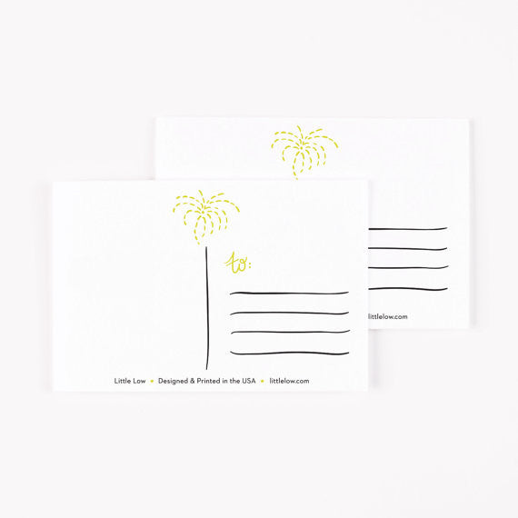 Happy New Year Postcards Set of 8