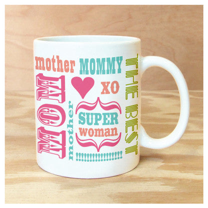 Mom Words Coffee Mug