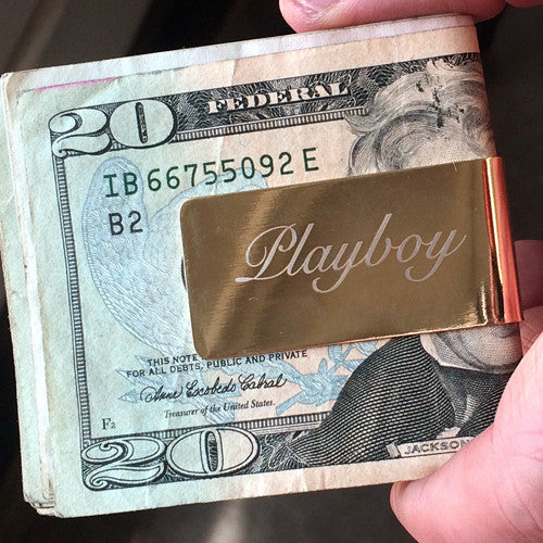 Money Clip- Playboy