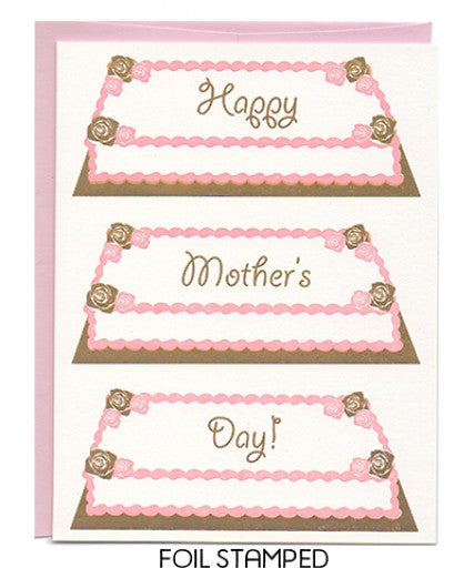 Sheet Cake Mother's Day Card