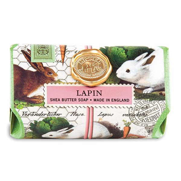 Lapin Large Bath Soap Bar