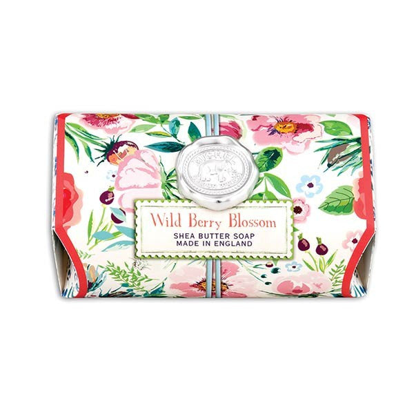 Wild Berry Blossom Large Bath Soap Bar