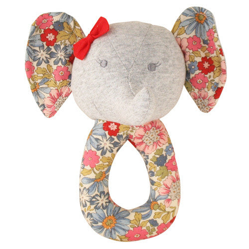 Esme Elephant Grab Rattle - Liberty