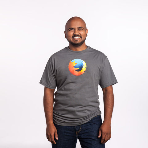 Men's Firefox Logo T-Shirt