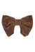 Avant Garde Bowtie - Brown Velvet - PROJECT 6, modest fashion