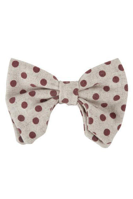 Avant Garde Bowtie - Burgundy Polka Dot - PROJECT 6, modest fashion