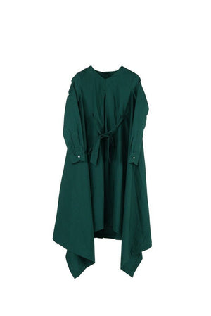 Botan - Hunter Green Poplin - PROJECT 6, modest fashion