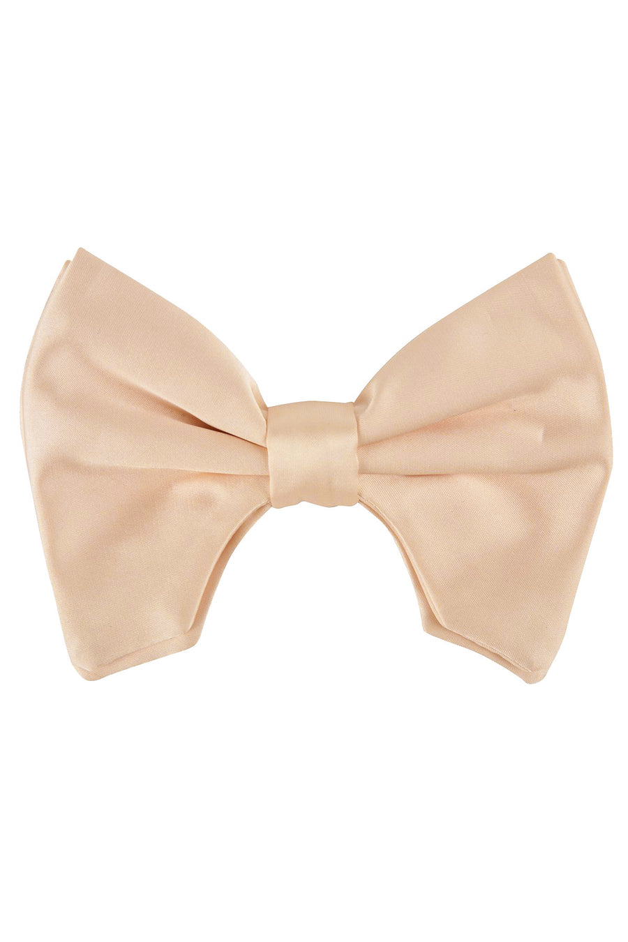 Avant Garde Bowtie - Champagne satin - PROJECT 6, modest fashion