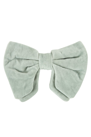 Avant Garde Bowtie - Light Antique Green Velvet - PROJECT 6, modest fashion
