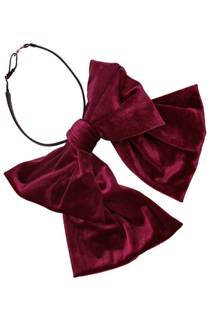 Amira - Burgundy Velvet - PROJECT 6, modest fashion