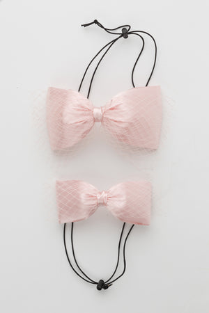 Avant Garde Bow Petit - Baby Pink - PROJECT 6, modest fashion