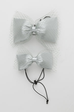 Avant Garde Bow Grand - Light Silver - PROJECT 6, modest fashion