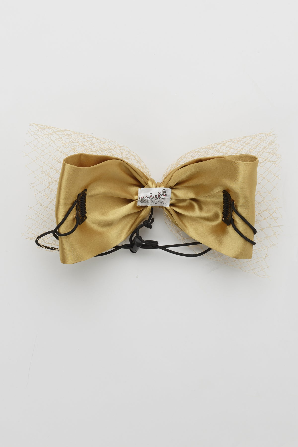 Avant Garde Bow Grand - Gold - PROJECT 6, modest fashion