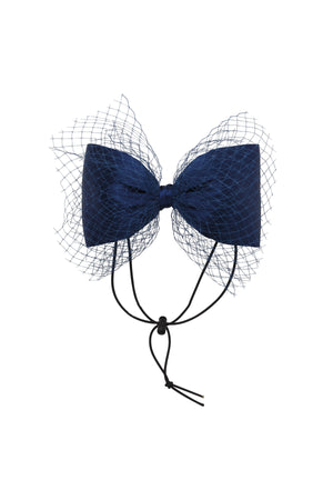 Avant Garde Bow Grand - Navy - PROJECT 6, modest fashion