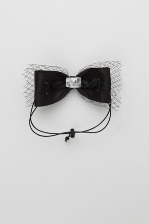 Avant Garde Bow Petit - Black - PROJECT 6, modest fashion