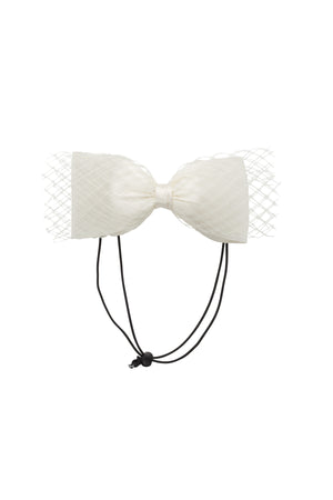 Avant Garde Bow Petit - Dove Ivory - PROJECT 6, modest fashion