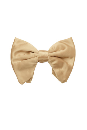 Avant Garde Bowtie - Gold Satin - PROJECT 6, modest fashion