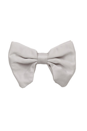 Avant Garde Bowtie - Silver Satin - PROJECT 6, modest fashion