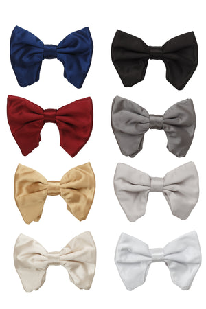 Avant Garde Bowtie - White Satin - PROJECT 6, modest fashion