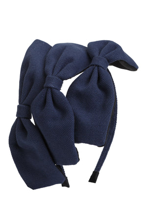 Bow Chapeau - Navy - PROJECT 6, modest fashion