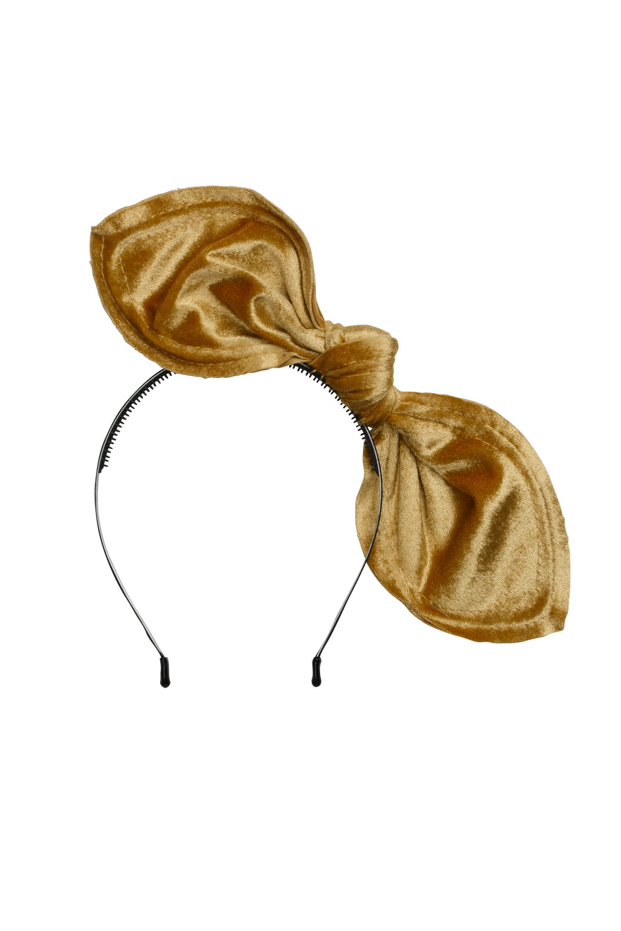 Bubble Ear - Gold Velvet - PROJECT 6, modest fashion