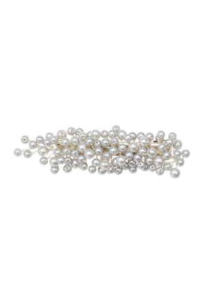Baby's Breath Royal Clip - Silver Pearl - PROJECT 6, modest fashion