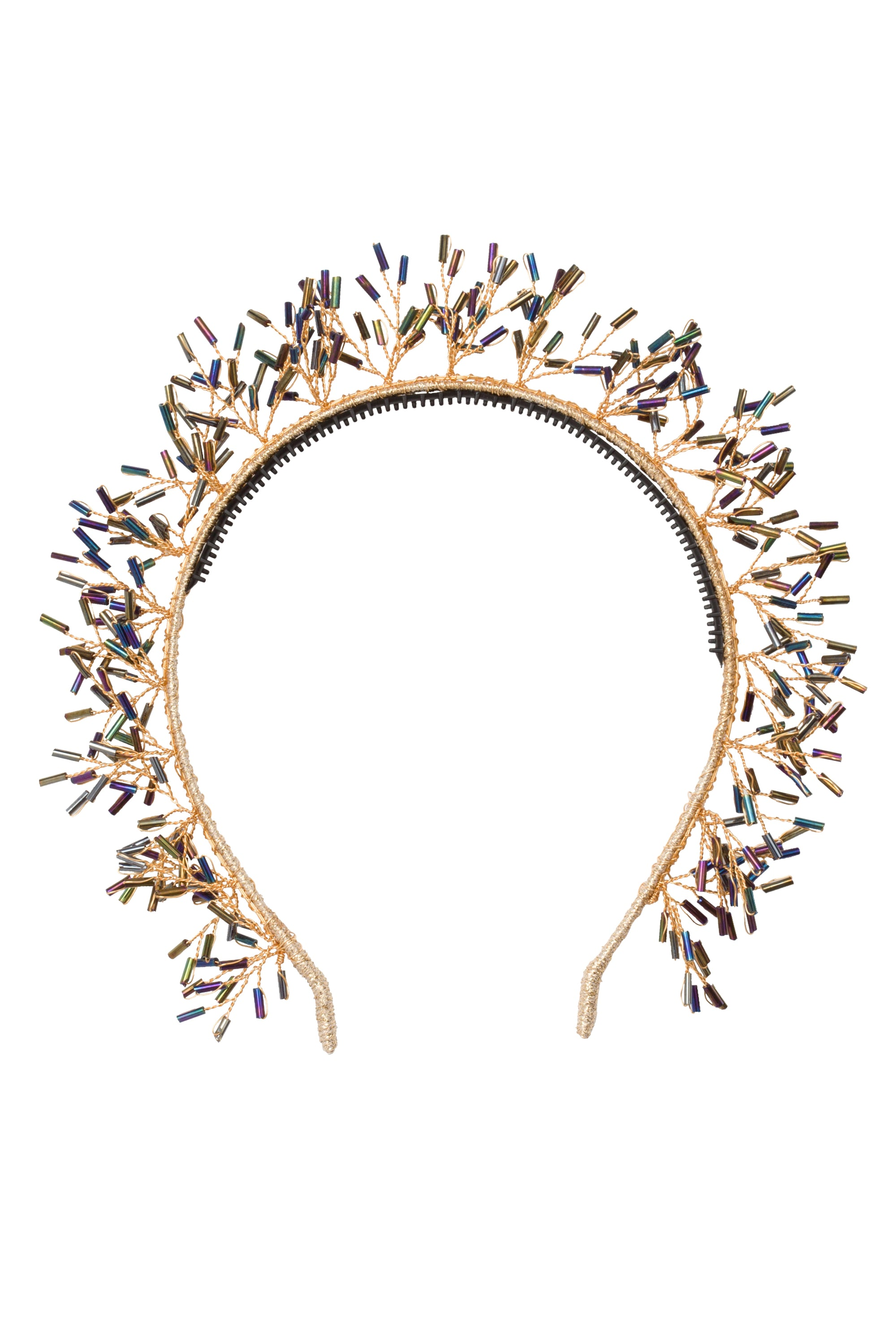 Baby's Breath Royal Headband - Black Bugle - PROJECT 6, modest fashion
